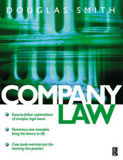 Company Law - 1st Edition book cover