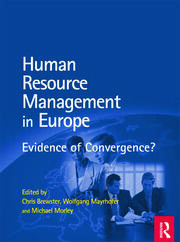 HRM in Europe - 1st Edition book cover