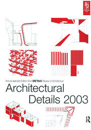 Architectural Details 2003 - 1st Edition book cover