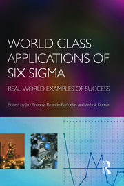 World Class Applications of Six Sigma - 1st Edition book cover