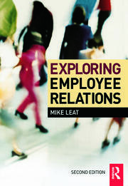 Exploring Employee Relations - 2nd Edition book cover