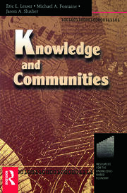 Knowledge and Communities - 1st Edition book cover