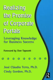 Realizing the Promise of Corporate Portals - 1st Edition book cover