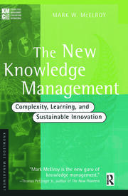 The New Knowledge Management - 1st Edition book cover