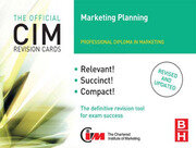 CIM Revision Cards Marketing Planning - 2nd Edition book cover