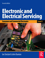 Electronic and Electrical Servicing - Level 3 - 2nd Edition book cover