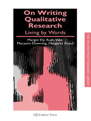 On Writing Qualitative Research - 1st Edition book cover
