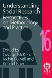 Understanding Social Research - 1st Edition book cover
