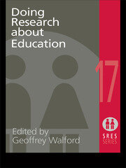 Doing Research About Education - 1st Edition book cover