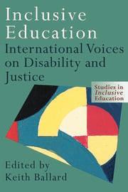 Inclusive Education - 1st Edition book cover