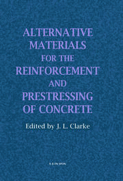Alternative Materials for the Reinforcement and Prestressing of Concrete - 1st Edition book cover