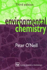 Environmental Chemistry - 3rd Edition book cover