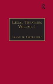 Legal Treatises - 1st Edition book cover