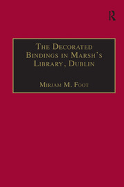 The Decorated Bindings in Marsh's Library, Dublin - 1st Edition book cover