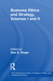 Business Ethics and Strategy, Volumes I and II - 1st Edition book cover