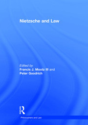 Nietzsche and Law - 1st Edition book cover