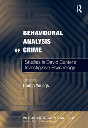 Behavioural Analysis of Crime - 1st Edition book cover