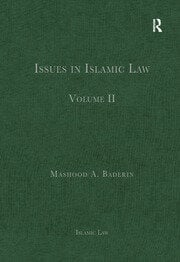 Issues in Islamic Law - 1st Edition book cover