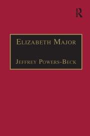 Elizabeth Major - 1st Edition book cover