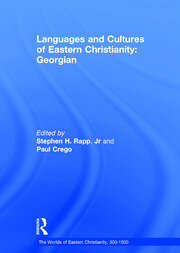 Languages and Cultures of Eastern Christianity: Georgian - 1st Edition book cover