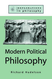 Modern Political Philosophy - 1st Edition book cover