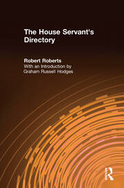 The House Servant's Directory - 1st Edition book cover