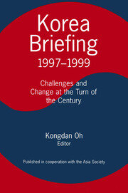 Korea Briefing - 2nd Edition book cover