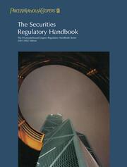 The Securities Regulatory Handbook - 2nd Edition book cover