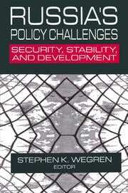 Russia's Policy Challenges - 1st Edition book cover