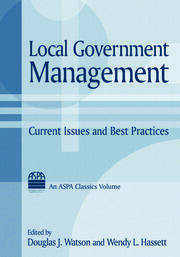 Local Government Management - 1st Edition book cover