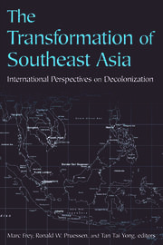 The Transformation of Southeast Asia - 1st Edition book cover