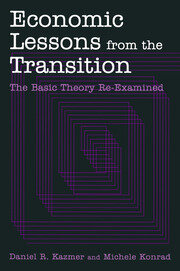 Economic Lessons from the Transition: The Basic Theory Re-examined - 1st Edition book cover