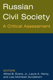 Russian Civil Society: A Critical Assessment - 1st Edition book cover