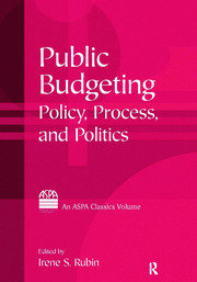 Public Budgeting - 1st Edition book cover