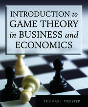 Introduction to Game Theory in Business and Economics - 1st Edition book cover