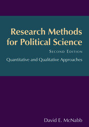 Research Methods for Political Science - 2nd Edition book cover
