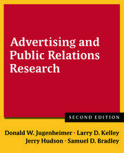 Advertising and Public Relations Research - 2nd Edition book cover