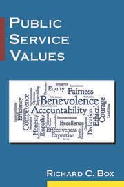 Public Service Values - 1st Edition book cover