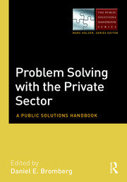 Problem Solving with the Private Sector - 1st Edition book cover
