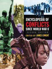 Encyclopedia of Conflicts Since World War II - 2nd Edition book cover