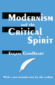 Modernism and the Critical Spirit - 1st Edition book cover