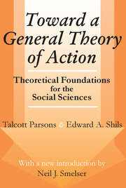 Toward a General Theory of Action - 1st Edition book cover