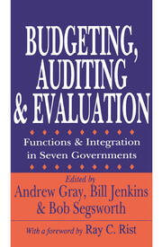 Budgeting, Auditing, and Evaluation - 1st Edition book cover
