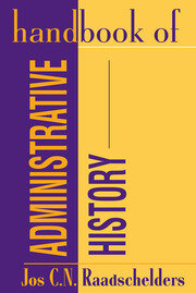 Handbook of Administrative History - 1st Edition book cover