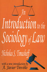An Introduction to the Sociology of Law - 1st Edition book cover