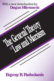 The General Theory of Law and Marxism - 1st Edition book cover