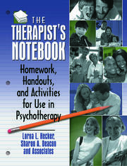 The Therapist's Notebook - 1st Edition book cover