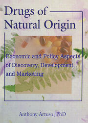 Drugs of Natural Origin - 1st Edition book cover