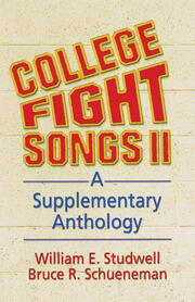 College Fight Songs II - 1st Edition book cover