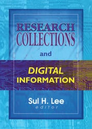 Research Collections and Digital Information - 1st Edition book cover